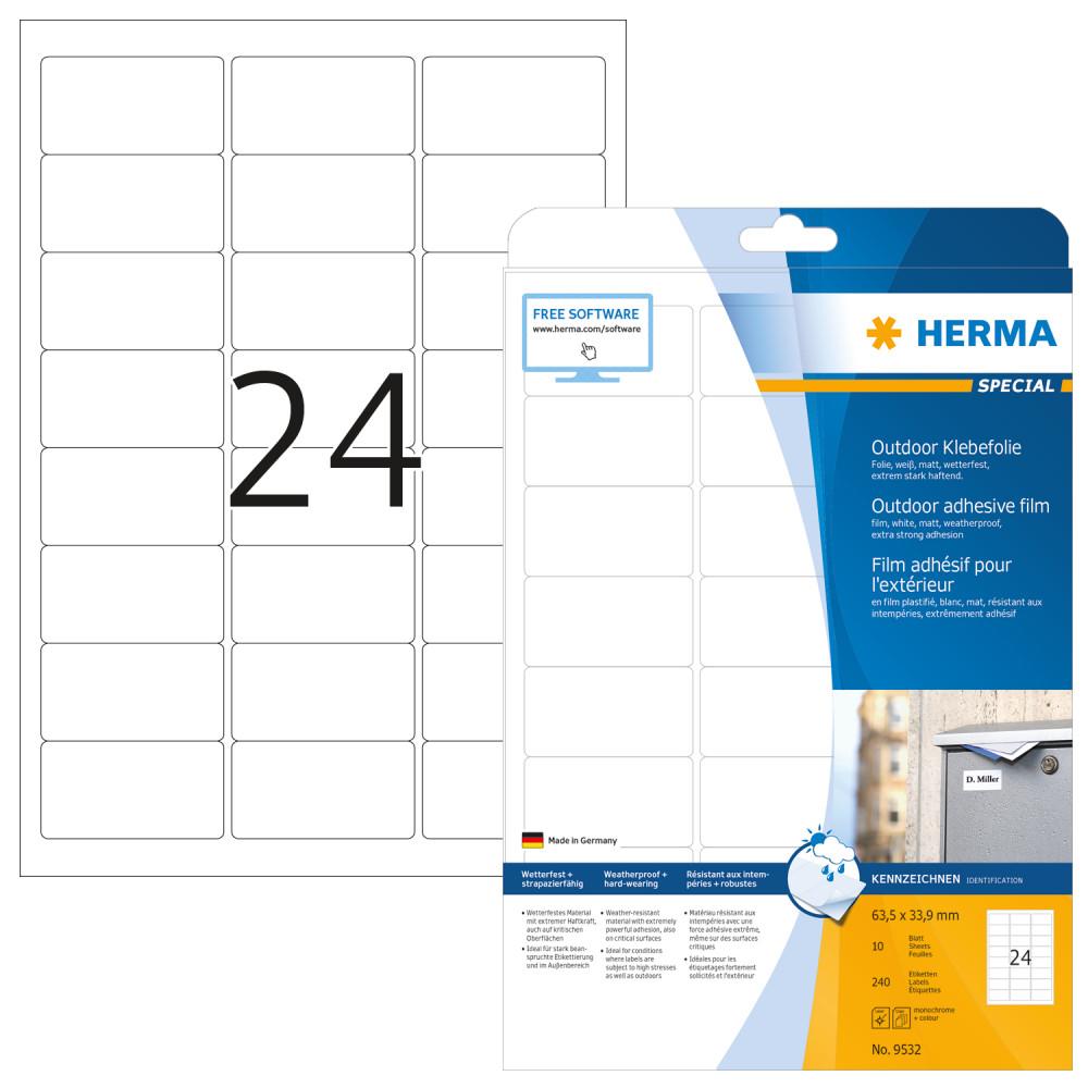 3e6c102893 Herma 9532 öntapadós etikett címke - Címke, etikett, nyomtatható ...