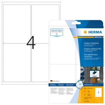 Herma 9534 öntapadós fehér ultra ellenálló címke