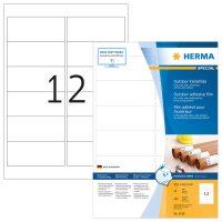 Herma 9538 öntapadós fehér ultra ellenálló címke