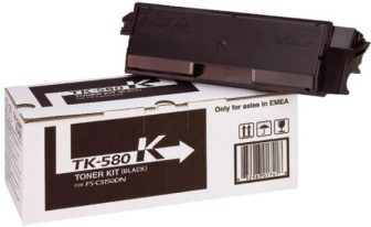 Kyocera Mita TK-580K toner cartridge - black (Kyocera TK-580K)