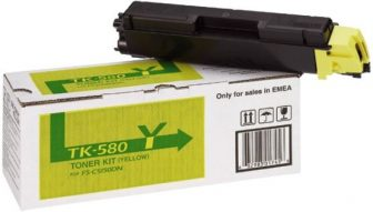 Kyocera Mita TK-580Y toner cartridge - yellow (Kyocera TK-580Y)
