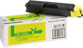 Kyocera Mita TK-590Y toner cartridge - yellow (Kyocera TK-590Y)