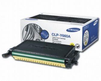 Samsung CLP-Y660A festékkazetta - sárga (Samsung CLP-Y660A)
