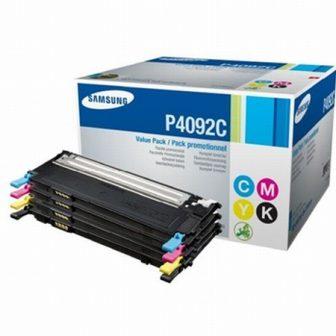 Samsung CLT-P4092C festékkazetta - fekete, cián, bíbor, sárga (Samsung CLT-P4092C)