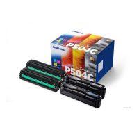 Samsung CLT-P504C festékkazetta csomag - fekete, cián, bíbor, sárga (Samsung CLT-P504C)