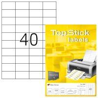 TopStick 8698 nyomtatható öntapadós etikett címke