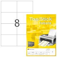 TopStick 8716 öntapadós etikett címke