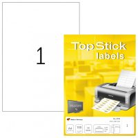 TopStick 8720 nyomtatható öntapadós etikett címke