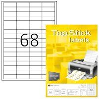 TopStick 8729 nyomtatható öntapadós etikett címke