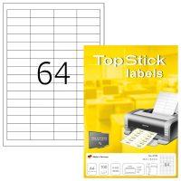 TopStick 8730 öntapadós etikett címke