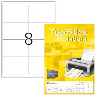 TopStick 8758 nyomtatható öntapadós etikett címke