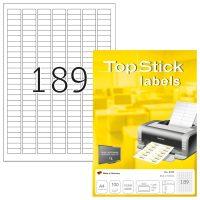 TopStick 8780 öntapadós etikett címke