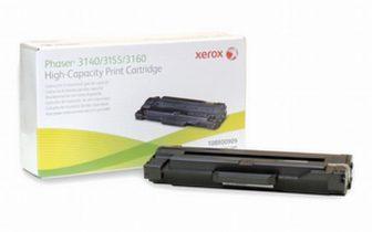 Xerox Phaser 3140, 3155, 3160 toner cartridge - fekete (2500 oldal) (Xerox 108R00909)