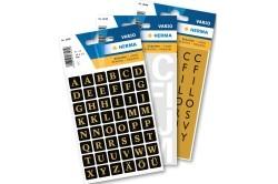 Herma öntapadó betűk és számok