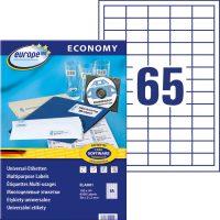 europe100 ELA001 öntapadó etikett címke