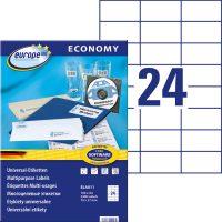 europe100 ELA011 öntapadó etikett címke