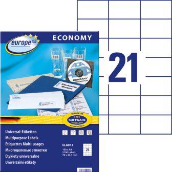 europe100 ELA013 öntapadó etikett címke