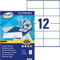 europe100 ELA021 öntapadó etikett címke