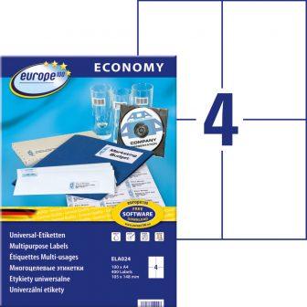 europe100 ELA024 öntapadó etikett címke