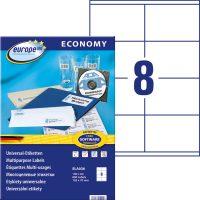 europe100 ELA036 öntapadó etikett címke