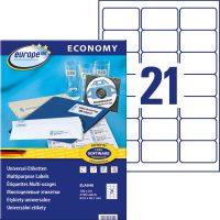europe100 ELA040 öntapadó etikett címke