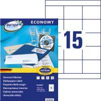 europe100 ELA044 öntapadó etikett címke